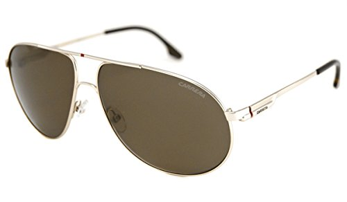 Carrera Sunglasses - Carrera 58 / Frame: Gold Lens: Polarized Brown ...