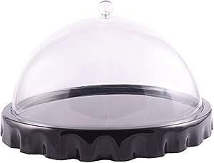 Dimlaj Snack Tray with Dome, 20989B