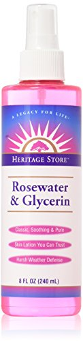 Heritage Products Rosewater And Glycerin - 8 Fl Oz ()