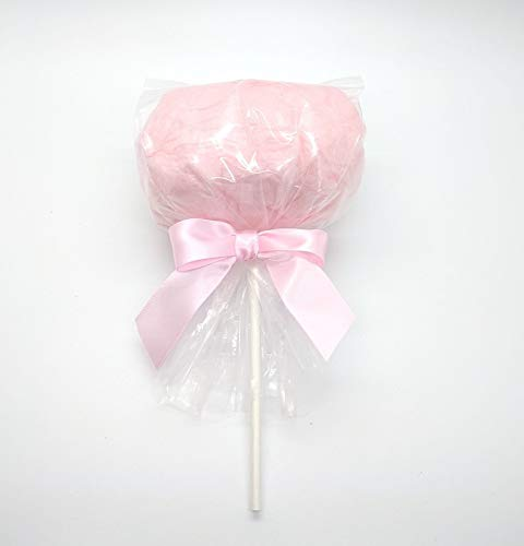 Pink Cotton Candy Pops 12 per Order