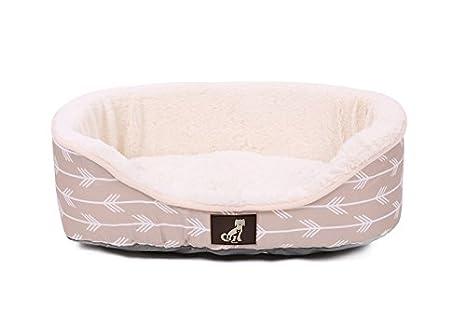 All Pet Solutions Cama para Perro, Cama de Lujo con cojín Reversible Lavable: Amazon.es: Productos para mascotas