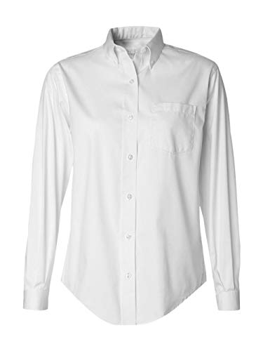 d4c9b65f3 Van Heusen Women's Wrinkle Free Pinpoint Oxford Shirt - Buy Online ...