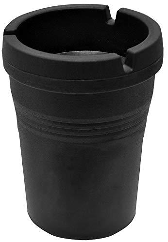 Custom Accessories 93365D Black Smokeless Ashtray (2)
