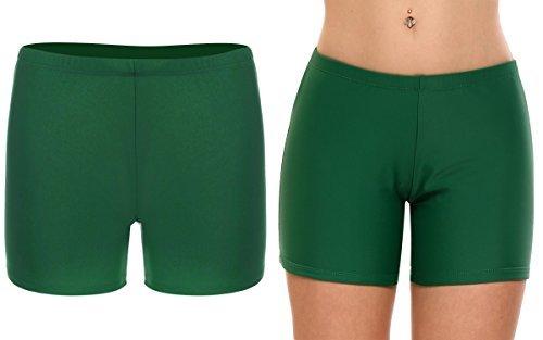 88cc4a4cdf85df Image Unavailable. Image not available for. Color: Vansop Women's Boyleg Swim  Shorts Tankini Bikini Bottoms Yoga Surf Board Shorts