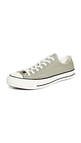 Converse Men's Chuck Taylor All Star '70s Low Top Sneakers, Jade Stone, Green, 7 M US