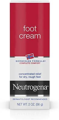 Neutrogena Norwegian Formula Moisturizing Foot Cream, 2 Oz.