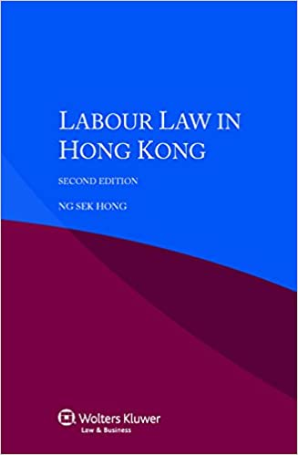Book Labour Law in Hong Kong