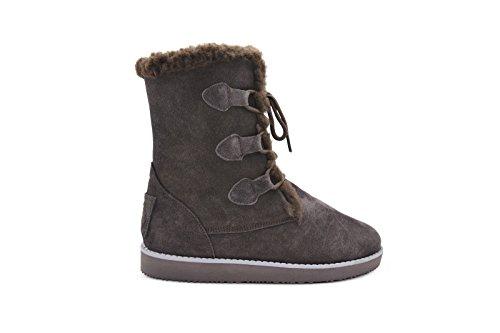 Aussie Merino Women's Candace Tall Boots 6 Chocolate ()