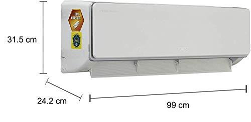 Voltas 1.5 Ton Hot and Cold Split AC (Copper 18H SZS White) 5