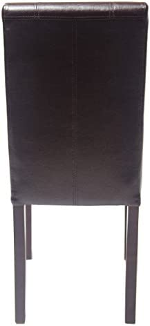 home, kitchen, furniture, kitchen, dining room furniture,  chairs 4 picture Roundhill Furniture Urban Style Solid Wood Leatherette Padded deals