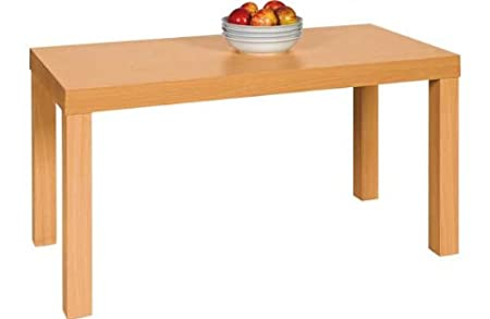 Coffee Table Beech Effect Amazoncouk Kitchen Home