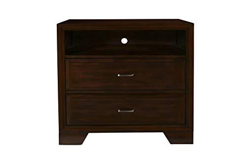 New Classic Furniture 00-143-078 Garrett Bedroom Media Chest, Chestnut