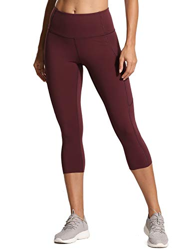 (CRZ YOGA Women's Naked Feeling High-Rise Tight Training Yoga Leggings with Out Pocket -19