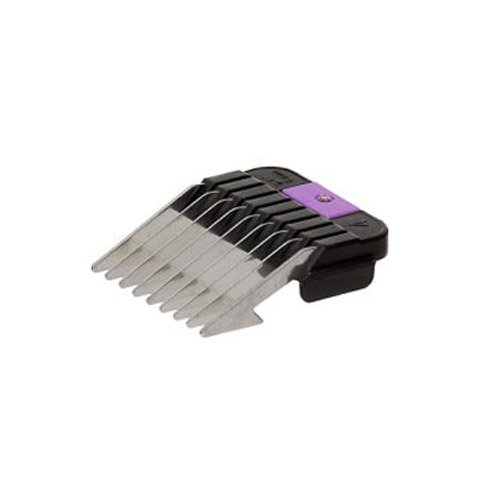 Wahl Professional Animal Purple Stainless Guide Comb 1/4