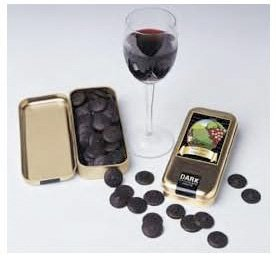 Wine Lover's Collection Delightful Gourmet Chocolates Pinot Noir 56%
