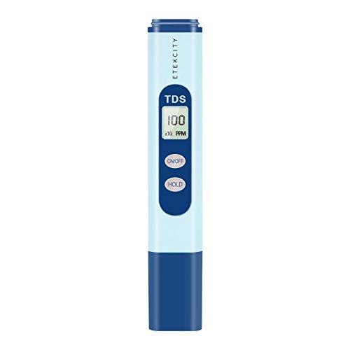 317WTlaaFTL Etekcity Digital Handheld TDS Meter , +/- 2% High Accuracy, 0-9990 ppm (Blue)