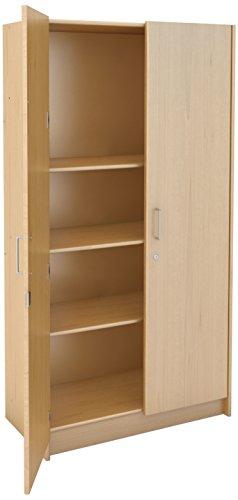 Tot Mate 3264AQS73 Teacher Storage Cabinet, 6′