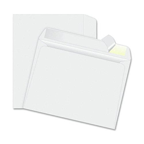 Check O Matic 9x12 Envelopes – Jumbo Peel and Seal White Business Envelopes with Open Side Booklet Orientation for Catalog, Mailer, Invoice, Invitations, Checks & More – 30 Count (Jumbo Postage)