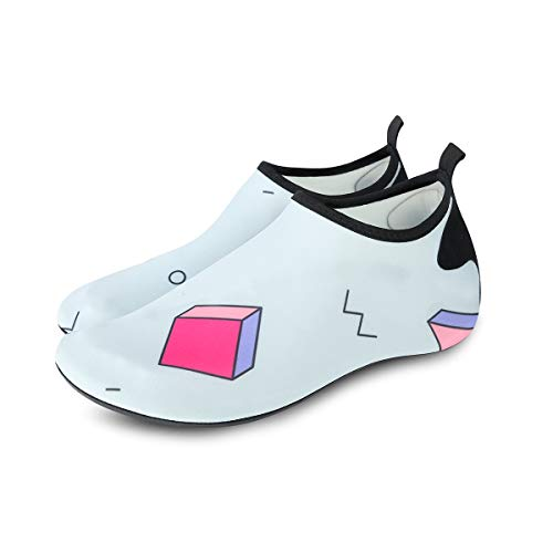 Quick for Exercise Magic Beach Dry Barefoot Surf and Yoga Socks Vaincre Shoes Womens Aqua Swim Cube Water Mens ZYqxvwa