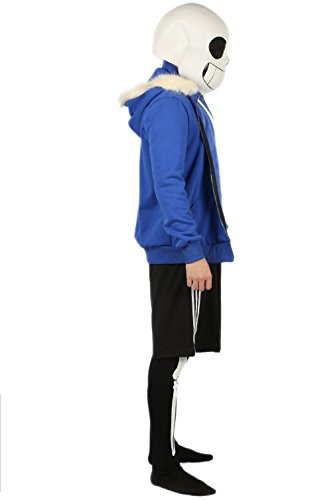 Savvy Connect App >> Sans Skeleton Mask Costume Halloween Cosplay Outfit Suit M - Buy Online in UAE. | Apparel ...