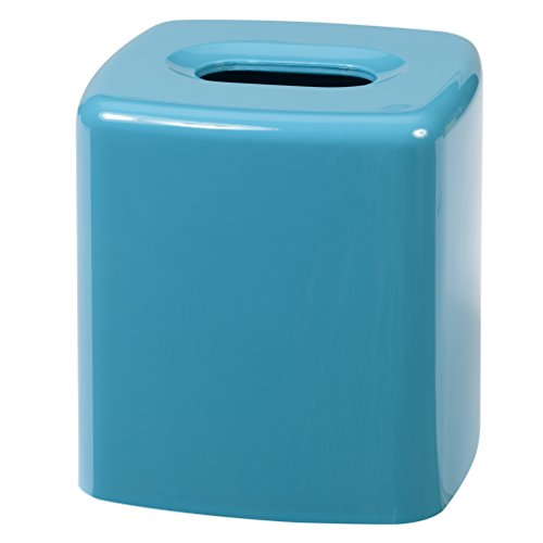 Creative Bath Products Gem Tissue Cover, Turquoise by Creative Bath