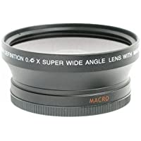 Wide Angle / Macro Lens For Nikon D3000, D3100, D5100, D5000, D7000 Digital SLR Cameras. This Lens Will Attach Directly to the Following Nikon Lenses 18-55mm, 55-200mm, 50mm