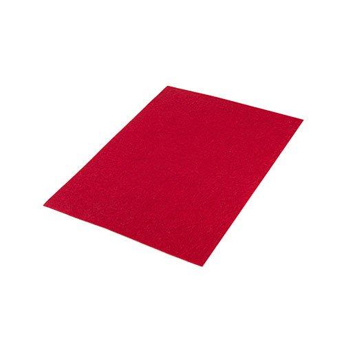 "High Quality Acrylic Felt Sheet 9"" X 12"": Red"