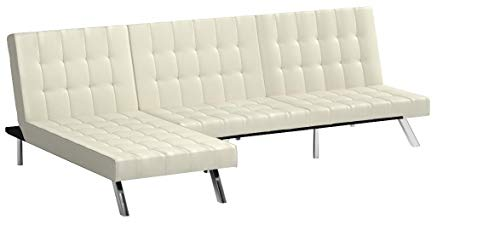 Modern Sofa Bed Sleeper Faux Leather Convertible Sofa for sale  Delivered anywhere in USA