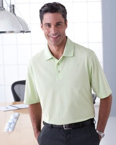 Ashworth 4570 Men's High Twist Cotton Tech Polo-Men's Polo-Medium-Pine [Misc.] ()