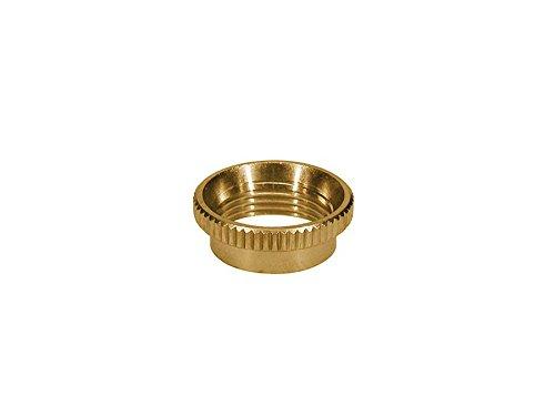Genuine Switchcraft USA Deep thread round Gold switch nut for Switchcraft guitar toggle ()