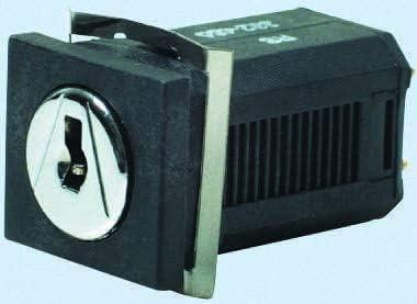 Key Switch SP3T -20 +60C 100 mA @ 30 V dc 3-Way
