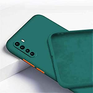 Brussel Back Cover for OnePlus Nord(Silicone/Green)