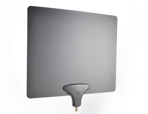 Mohu Leaf 30 TV Antenna, Indoor, 30 Mile Range, Original Paper-thin, Reversible, Paintable, 4K-Ready HDTV, 10 Foot Detachable Cable, Premium Materials for Performance, USA Made, - R Original