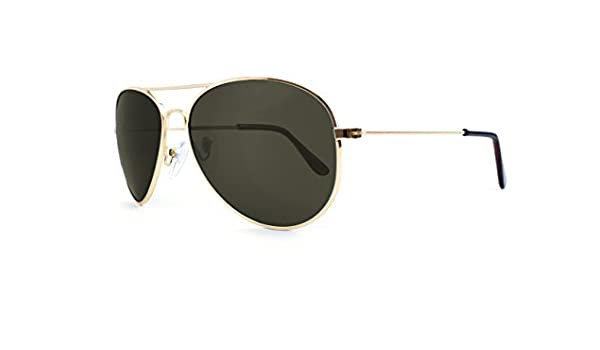 Gafas de Sol Knockaround Mile High Gold Aviator / Green ...
