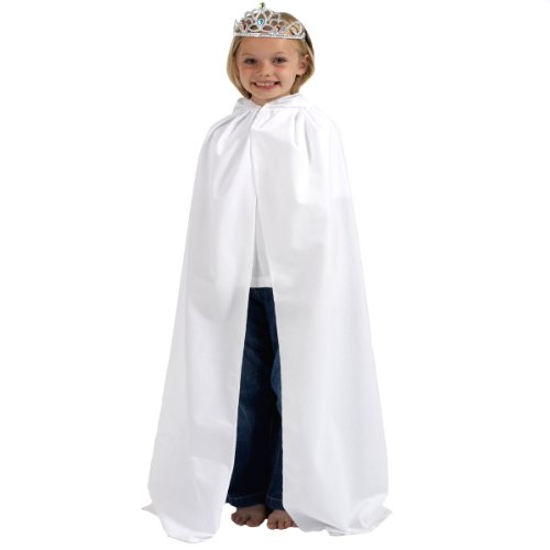 Women's Star Wars Costumes Uk (White Cloak or Cape with Hood)