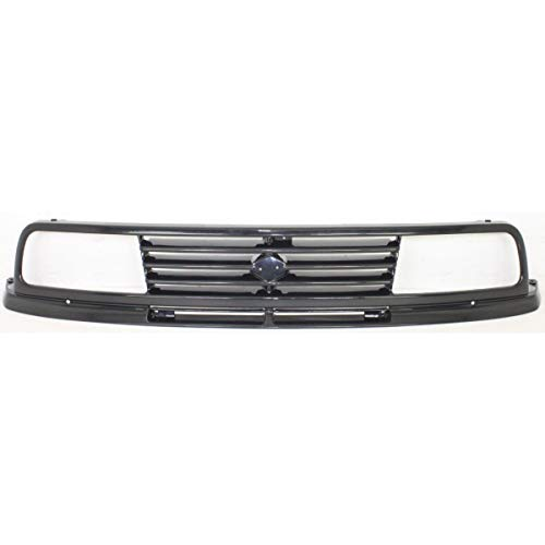 New Grille For 1989-1995 Suzuki Sidekick Plastic, Painted-Black, 2-Door SZ1200104 7211160A30