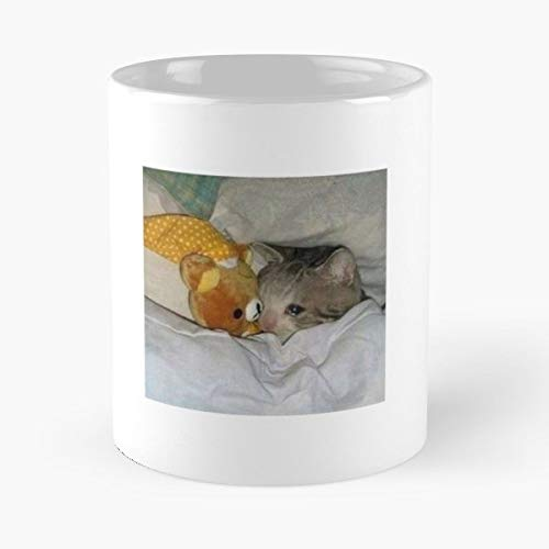Cat Kitty Meme Sad - Funny Sophisticated Design Great Gifts -11 Oz Coffee Mug.the Best Gift For Holidays.