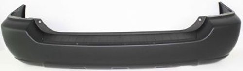 Crash Parts Plus Primed Rear Bumper Cover Replacement for 2004-2007 Toyota (Toyota Highlander Rear Bumper Cover)