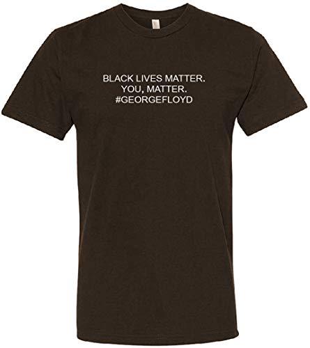 George Floyd Black Lives Matter Shirt, You Matter TEE Shirt – I Cant Breath Spread Awareness
