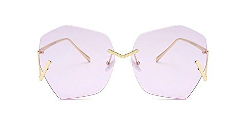 Violet polarisées métallique style Lennon rond soleil en Clair retro lunettes cercle du vintage de inspirées B14xBSqO