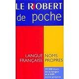 Micro Robert Poche Dictionnaire des Noms Propres, Inc Distribooks, 2850362735
