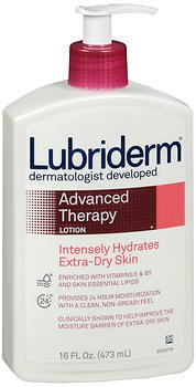 Lubriderm Advanced Therapy Lotion 16 oz (Pack of -