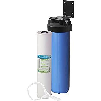 Image of APEC Water Systems CB1-CAB20-BB APEC Whole House Carbon Water Filter with 20' Big Blue Home Filtration System