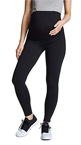 - Ingrid & Isabel Women's Maternity Active Legging With Crossover Panel, Black, Small