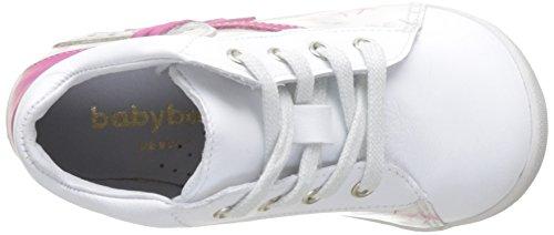 babybotte Faribol - Zapatos de primeros pasos Bebé-Niños Blanc (Blanc/Pissenlits)