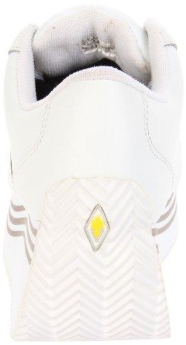 Flygtige Kvinders Elevation Platform Kile Sneaker Hvid Læder rjiKLu0t