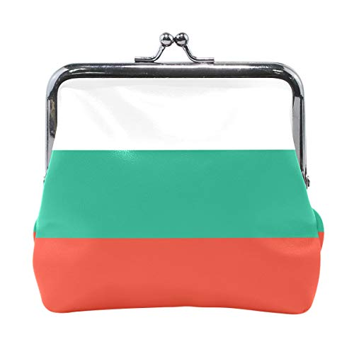 Ethel Ernest Flag Of Bulgaria Coin Wallets Mini Purse for Womens Girls Ladies