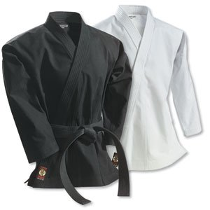 Century Martial Arts 14 oz. Traditional Ironman Heavyweight Martial Arts Karate Jacket - Black, 6 - Adult X-Large by Century