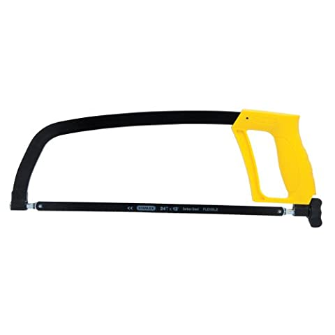 Stanley STHT20138 Solid Frame High Tension Hacksaw (12in / 305mm) (Saws All Blade Handle)