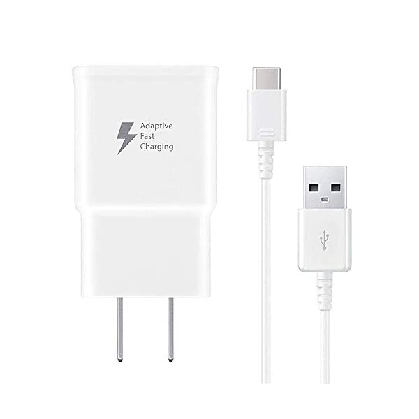 4e1a7be3bb8af9 Pantom Adaptive Fast Charging Wall Charger and 5-Feet Type C Data ...